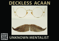 Unknown Mentalist – DECKLESS ACAAN (official pdf)