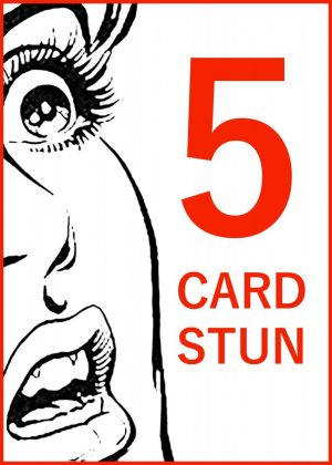 Jay Sankey – FIVE CARD STUN (Gimmick not included)