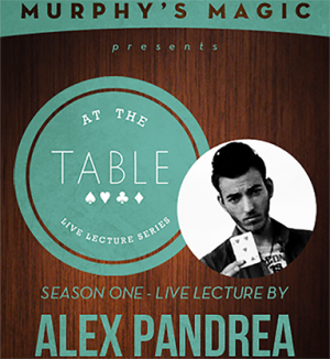 Alex Pandrea – At The Table Live Lecture (7 May, 2014)