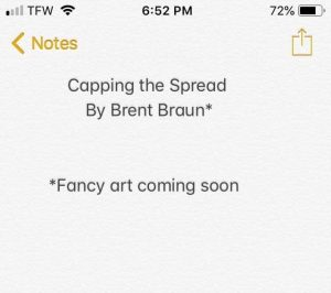 Brent Braun – Capping The Spread (Instant Download)