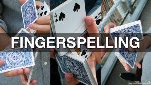 Tobias Levin & Oliver Sogard – Fingerspelling