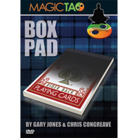 Gary Jones & Chris Congreave – Box Pad (gimmick can be easily made) + (the pdf)