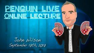 John Wilson – Penguin live lecture (September 17th, 2017)