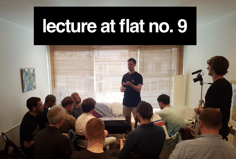Sleightlyobsessed – Lecture at Flat No.9 (HD quality ...