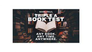 Marc Paul – Triple A Book Test (FullHD quality)