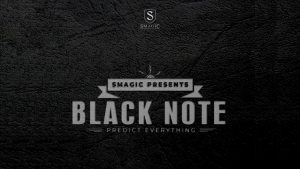 Smagic Productions – BLACK NOTE (Gimmick not included)