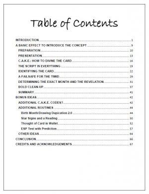 RedDevil – T.I.T.E Mentalism (Official pdf)