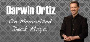Darwin Ortiz – On Memorized Deck