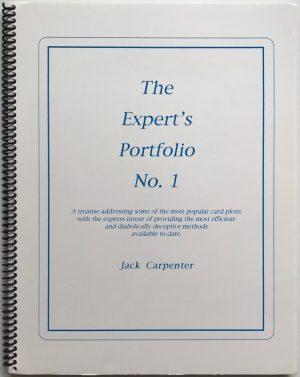 Jack Carpenter – Experts Portfolio No. 1