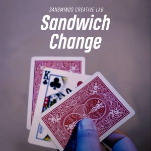 Sansminds Creative Lab – Sandwich Change (Gimmick not included)