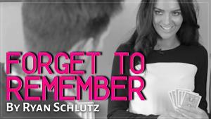 Ryan Schlutz & Big Blind Media – Forget to Remember