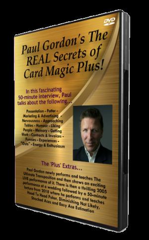 Paul Gordon – The Real Secrets of Card Magic Plus (Jan 2019)