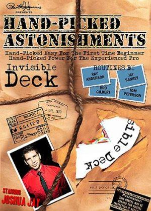 Joshua Jay and Paul Harris – Hand-Picked Astonishments Vol. 3 – Invisible Deck