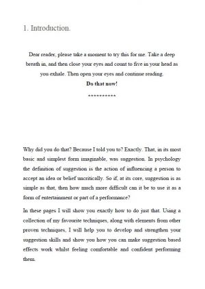 I Create As I Speak (Abracadabra) By Lewis Le Val