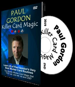 Paul Gordon – Killer Card Magic (Jan 2019)