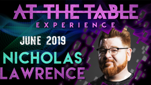 Nicholas Lawrence – At The Table (June 19th, 2019)