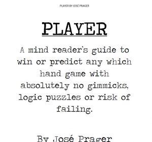 PLAYER by Jose Prager