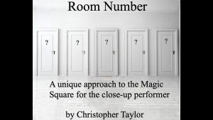 Christopher Taylor – Room Number (Video + PDF)