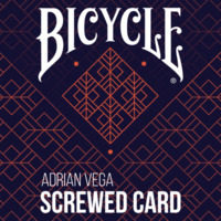 Screwed Card by Adrian Vega (Gimmick not included)