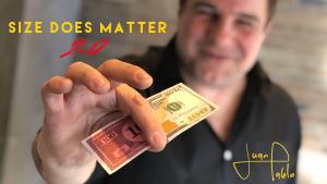 Juan Pablo – Size Does Matter 2.0 (Gimmick construction explained)