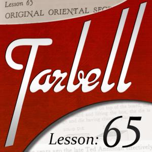 Dan Harlan – Tarbell 65 – Original Oriental Secrets (picture files included)