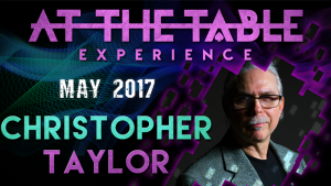 Christopher Taylor – At The Table Live Lecture (May 17th, 2017)