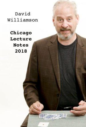 David Williamson – Chicago Lecture Notes 2018