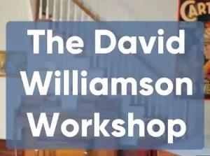 David Williamson – Online Workshop (May 21st, 2020)