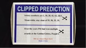 Uday – Clipped Prediction (Props not included)
