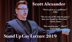 Scott Alexander – Stand Up Guy Live Lecture 2019
