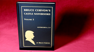 Bruce Cervon – Castle Notebooks – Vol 3