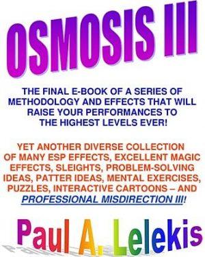 Paul Lelekis – Osmosis 3 (pdf + videos)
