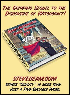 Steve Beam – Semi-Automatic Card Tricks – Vol. 12 + Cumulative Index