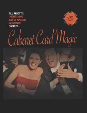 Bill Abbott – Cabaret Card Magic