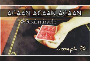 Joseph B. – ACAAN ACAAN ACAAN
