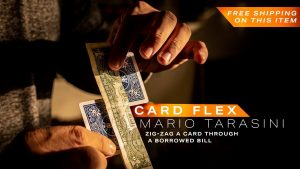 Mario Tarasini – CardFlex – ellusionist.com (Gimmick not included)