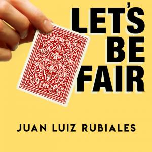 Juan Luis Rubiales – Let's Be Fair