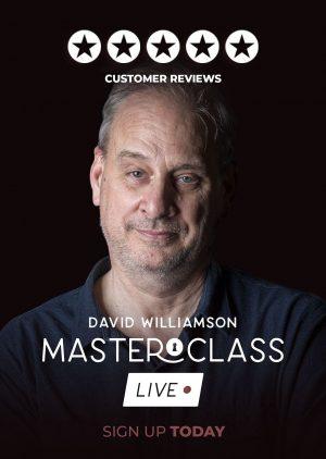 David Williamson – Masterclass Live (October 2020 – all 4 Weeks in 1080p quality) – vanishingincmagic.com