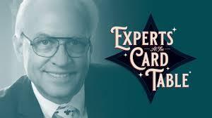 Allan Ackerman – Allan Ackerman Lecture (Experts at the Card Table)