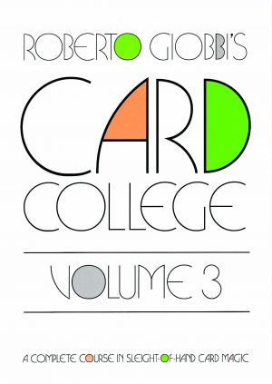Roberto Giobbi – Card College Volume 3 (Sample pages in description)