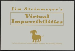 Jim Steinmeyer – Virtual Impuzzibilities