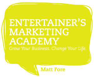 Matt Fore – Entertainer's Marketing Academy (EMA) (eBook + all Audio Files + Extra pdf)