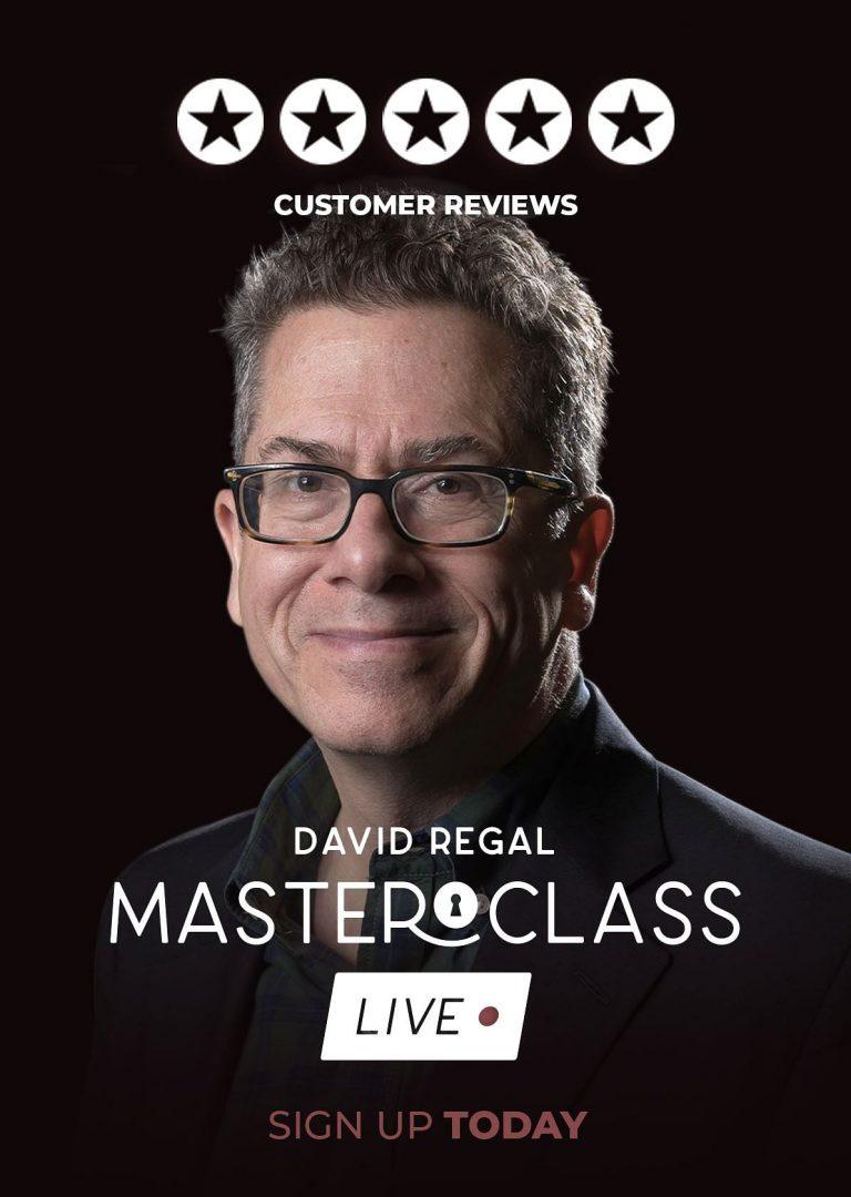 David Regal – Masterclass Live – Week 2 – erdnasemagicstore