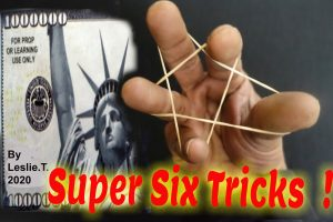 Leslie Thyagarajan – Super Six Tricks !