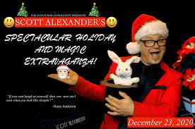 Scott Alexander – Spectacular Holiday and Magic Extravaganza 2020