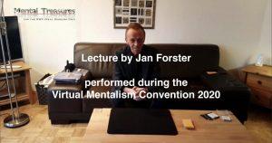Jan Forster – Teleport Revisited 2020 – Virtual Mentalism Workshop