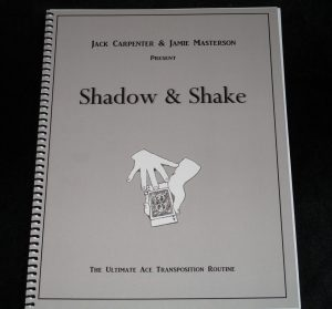 Jack Carpenter & Jamie Masterson – Shadow & Shake
