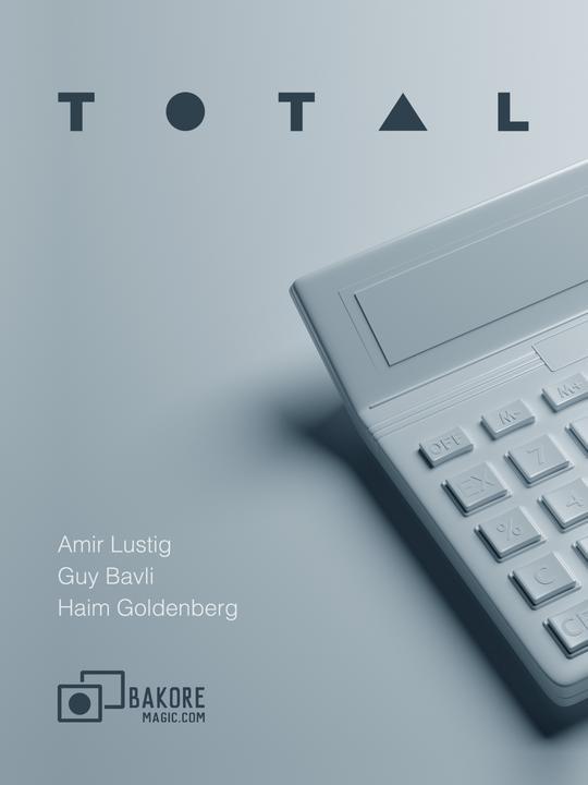 Haim Goldenberg, Guy Bavli & Amir Lustig – TOTAL (app not included) – erdnasemagicstore