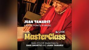 Juan Tamariz MASTER CLASS Vol. 4 – Five Points in Magic (720p video)