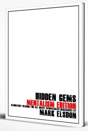 Mark Elsdon – Hidden Gems Mentalism Edition (official pdf)